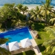The Residence Vomo - Aerial - Luxury Fiji Holiday Home