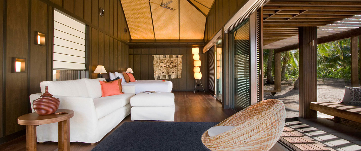 The Residence Vomo - Lounge - Fiji Luxury Holiday Homes