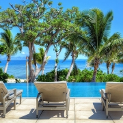 The Residence Vomo - Pool Deck - Fiji Luxury Holiday Homes
