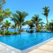 The Residence Vomo - Pool - Fiji Luxury Holiday Homes