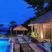 The Royal Vomo - External Pool View - Fiji Luxury Holiday Home