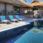 The Royal - Vomo - Pool at Day - Luxury Fiji Holiday Home