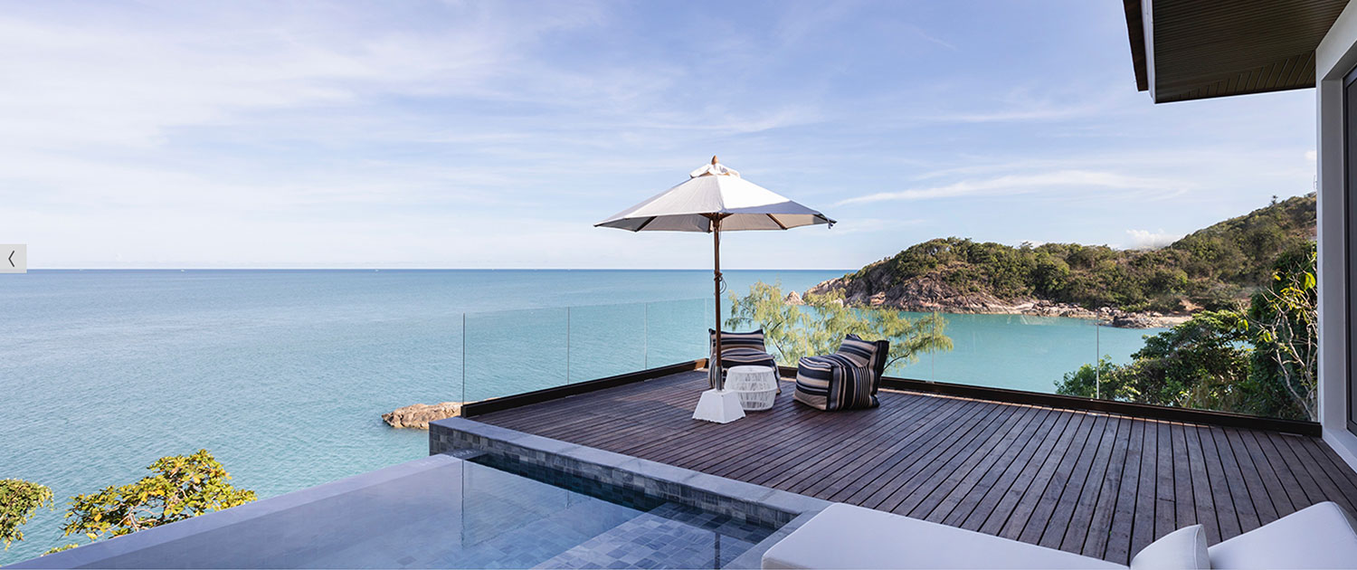 Cape Fahn Hotel - Views from Private Villa - Koh Samui Thailand Luxury Escapes