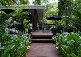 Barrier Beach Resort - Santo - Vanuatu Resorts- Garden Fare Deck