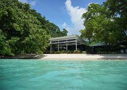 Barrier Beach Resort - Santo - Vanuatu Resorts - View from Ocean Looking Onto Resort Shore