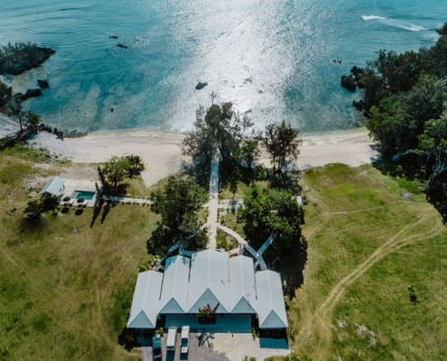 The Palm House Luxury Villas, Vanuatu - Aerial View