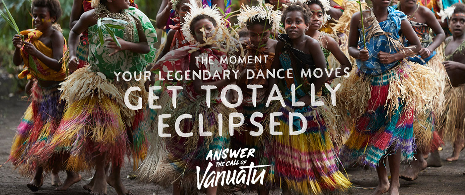 Vanuatu Holidays - Kustom / Culture - The Moment your legendary dance moves get totally eclipsed