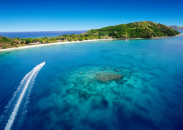 Luxury Private Island Fiji - Aerial View of Kokomo Private Island Resort