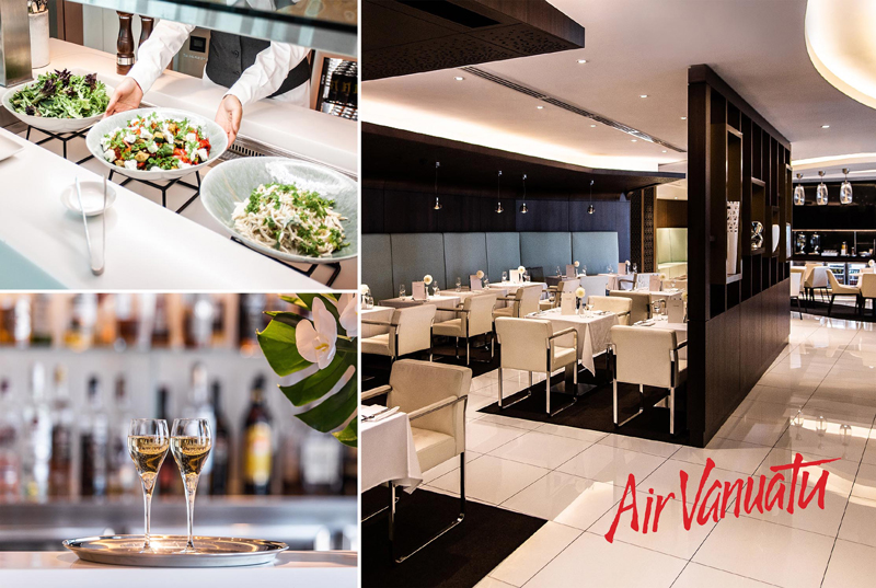 The House - Sydney Airport - Airport Lounge - Collage of Images