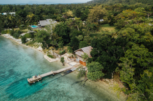 Havannah Boathouse Private Villa, Vanuatu - Aerial View