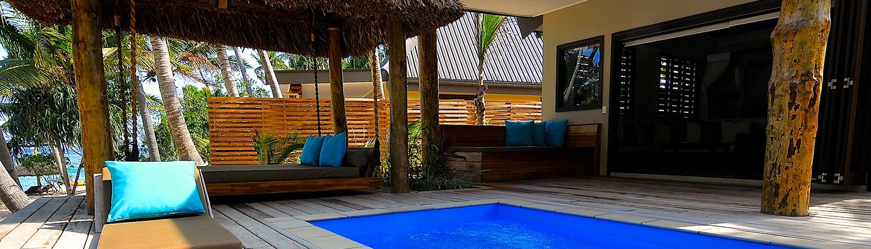 Paradise Cove Resort Fiji - Villa Exterior